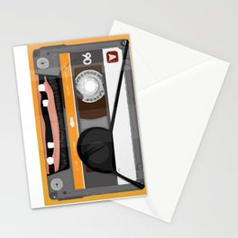 The cassette tape pirate Stationery Cards