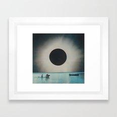Something's On Your Mind Framed Art Print
