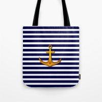 marine Tote Bags featuring Marine by Elena Indolfi