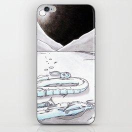 Death's Sadness iPhone Skin