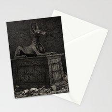 Anubis Shrine Stationery Cards