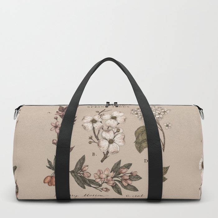 Flowering Spring Trees Duffle Bag