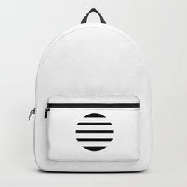 Blinding Sun Black Backpack