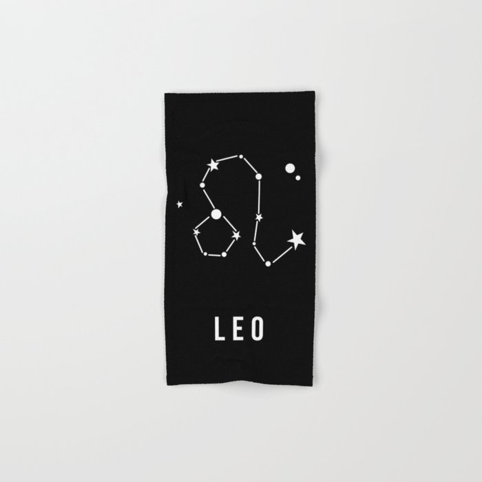 Leo Zodiac Sign Quote Hand Bath Towel By Thedailyquotes Society6
