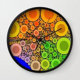 Bunte Kringles Wall Clock