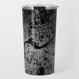 Louisville map Travel Mug
