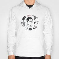 dale cooper Hoodies featuring dale cooper collage by Bunny Miele