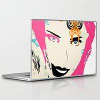 punk Laptop & iPad Skins featuring punk by Ezgi Kaya