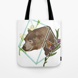 Monarch the California Grizzly Bear Tote Bag