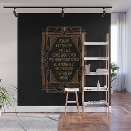 Give A Little Love - Bugsy Wall Mural