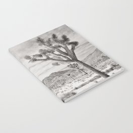 Joshua Tree Grey By CREYES Notebook