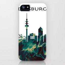Duisburg Skyline iPhone Case