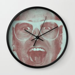 Patrick Bateman - The Hipster (Feat. Marta Macedo) Wall Clock