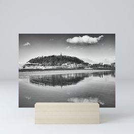 San Sebastian reflections. Mini Art Print