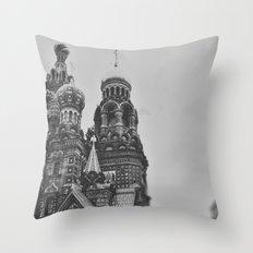 St Petersburg Throw Pillow