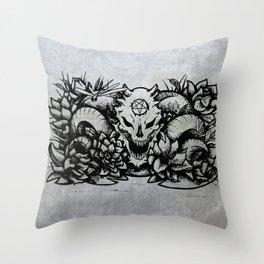 Hail Seitan Throw Pillow