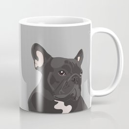 French Bulldog - Grey Coffee Mug