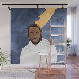 Kendrick Lamar, Blue Wall Mural