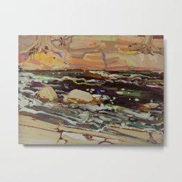 Tom Thomson Dark Waters spring 1916 Canadian Landscape Artist Metal Print