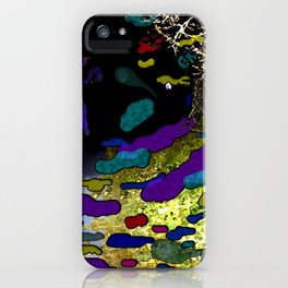 Night on the Path iPhone Case