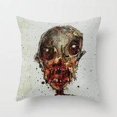 Hungry For Human Flesh Throw Pillow