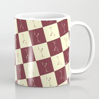 wine Mugs featuring WINE PICNIC by Sandhill
