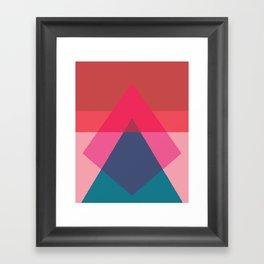Cacho Shapes LXV Framed Art Print