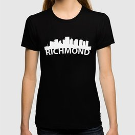 Curved Skyline Of Richmond VA T-shirt