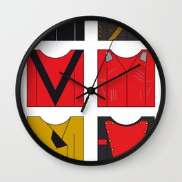 Michael's famous jackets Wall Clock