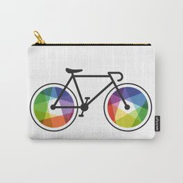 Geometric Bicycle Carry-All Pouch