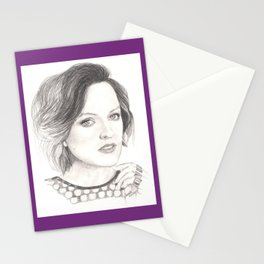 elisabeth moss...  peggy olson & more. Stationery Cards