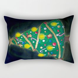 Christmas Eve - Christmas tree Rectangular Pillow
