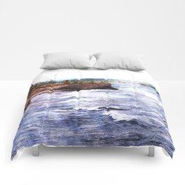 Upper Peninsula Landscape Comforters
