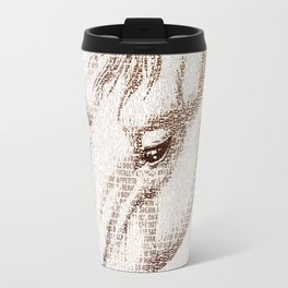 The Intellectual Horse Travel Mug
