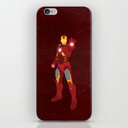 Knight in High-Tech Armor iPhone Skin