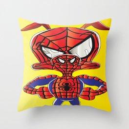 Spider Verse Ham Throw Pillow