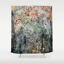 Abstracción II Shower Curtain