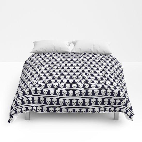 Pattern_skulls Comforters