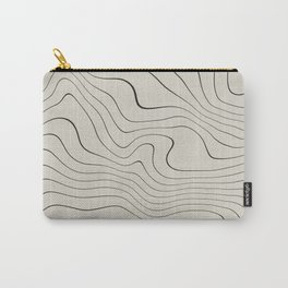 Line Distortion #1 Carry-All Pouch