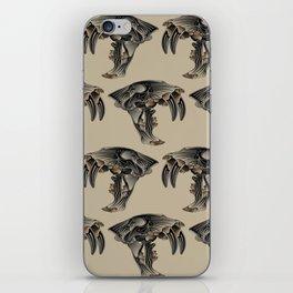 Ancient Warrior (Sabertooth Skull) iPhone Skin