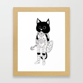 Ju'Lias, Khajiit of Adventure Framed Art Print