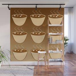 Hot Cocoa Wall Mural