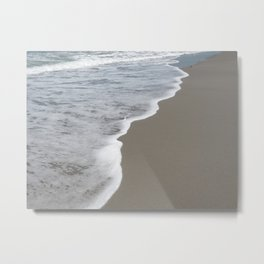 Beach Waves 1 Metal Print