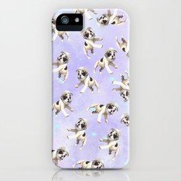 Pastel Space Pups iPhone Case