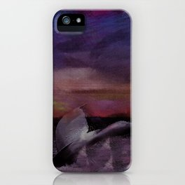 Whale Tale iPhone Case