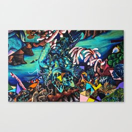 Enlightened Drifter Canvas Print