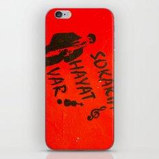 Sokakta Hayat Var! iPhone & iPod Skin