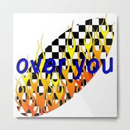 over you Metal Print