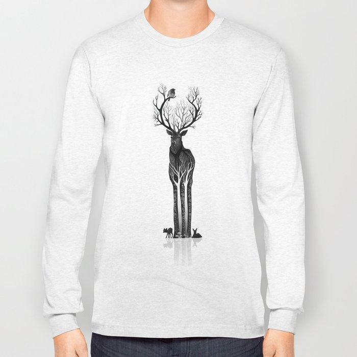 The black deer Long Sleeve T-shirt