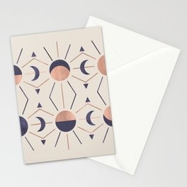 Moon and Light Rosè Version Stationery Cards